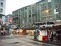 HK Kwun Tong Yue Man Square Bus Terminus 美都大廈 Mido Mansion 仁安大押 Pawn shop rainy day.JPG