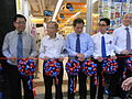 HK SW 119 Queen's Road West Park'n Shop Grand Open Ribbon-cutting ceremony Aug-2012 083.JPG