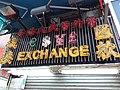 HK Wan Chai 菲林明道 Fleming Road Thomson Road FX Exchange shop sign 霓虹燈招牌 Noen lamp December 2018 SSG.jpg