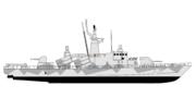 HMS Göteborg Drawing