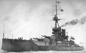 Battleship secondary armament - Image: HMS Iron Duke (1912)
