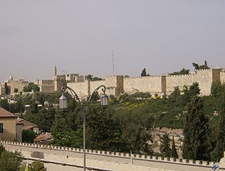 Old City (Jerusalem) Walled area in East Jerusalem