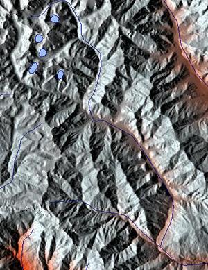 Ha Chhu - Image: Ha River map
