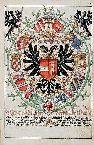 Habsburger Wappenbuch Fisch saa-V4-1985 005r