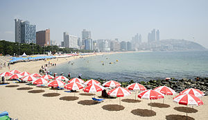 Haeundae District - Haeundae Beach