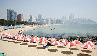 Haeundae District - Haeundae Beach
