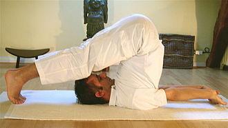 Sivananda yoga - Image: Halasana