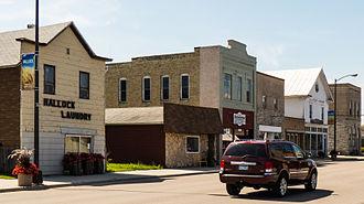 Hallock, Minnesota - Street in Hallock