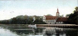 Halmstad Castle - Halmstad Castle (1900)