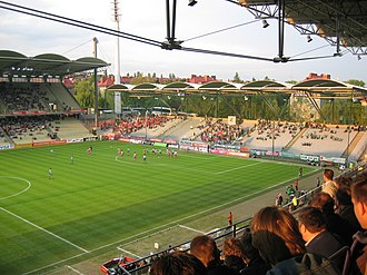 Gerhard Hanappi Stadium - Image: Hanappi Stadion Ost