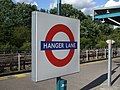 Hanger Lane stn roundel.JPG