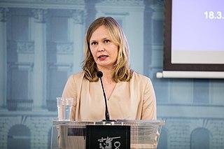 Hanna Kosonen Finnish politician and ski orienteer