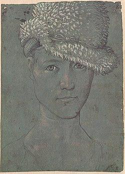 Hans Baldung Grien, Self Portrait (c. 1504).jpg