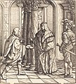 Hans Burgkmair I, A Message Concerning the White King's Marriage, NGA 836.jpg
