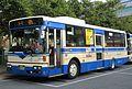 Hanshin Bus 224 at Koshien Station.JPG