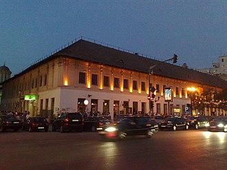 Manuc's Inn - Manuc's Inn as seen from outside
