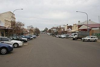 Harden, New South Wales - Main street