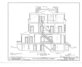 Harold J. Szold House, 57 Willow Street, Brooklyn, Kings County, NY HABS NY,24-BROK,33- (sheet 6 of 8).png