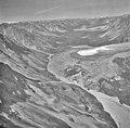 Harpoon Glacier, terminus of valley glacier partially covered in rocks and other debris, August 30, 1984 (GLACIERS 6535).jpg