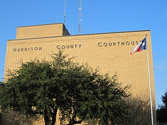 Harrison County, Texas - Image: Harrison County, TX, Courthouse IMG 2330