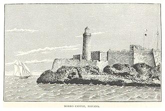 1846 Havana hurricane - Image: Havana, Morro Castle