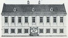 Haydns Haus in der Vorstadt Windmühle (Lithografie, 1840) (Quelle: Wikimedia)