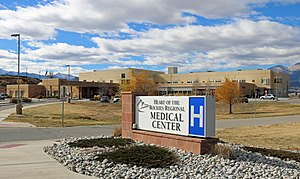 Heart of the Rockies Regional Medical Center - The hospital's entrance.