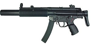 Heckler & Koch MP5 - The MP5SD3.