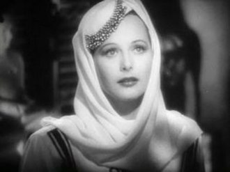 Lady of the Tropics - Cropped screenshot of Hedy Lamarr from the trailer for the film Lady of the Tropics (1939).