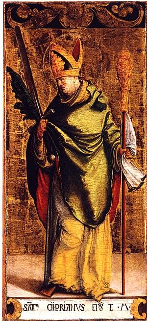 Cipriano, Santo, Obispo de Cartago (ca. 210-258)