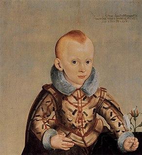 Erdmann August, Hereditary Prince of Brandenburg-Bayreuth