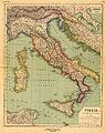 Heinrich Kiepert. Italia. Undecim regiones Italiae ab Augusto Imp. institutae.jpg