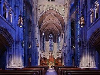 Heinz Memorial Chapel - Interior of Heinz Chapel