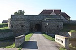 Heldrungen, der Zugang zur Wasserburg.jpg