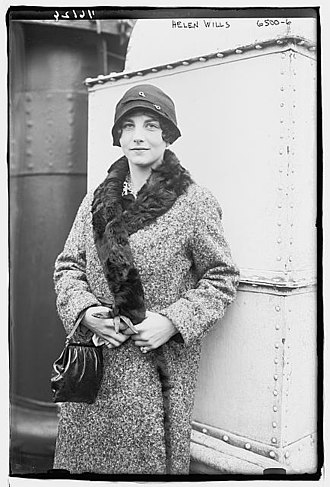 1930 in tennis - Helen Wills Moody ranked number one amateur on all lists, ladies' champion of Wimbledon and French Championships in both singles and doubles
