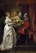 Helena and Count Bertram before the King of France (Wheatley, 1793).jpg
