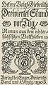 Helene Voigt-Diederichs Dreiviertel Stund vor Tag Titel 1905.jpg