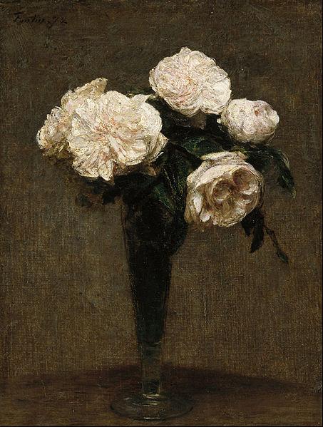file henri fantin latour roses in a vase google art wikimedia commons. Black Bedroom Furniture Sets. Home Design Ideas
