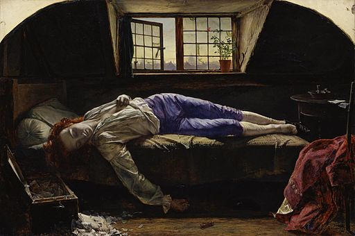 Henry Wallis - Der Tod des Chatterton