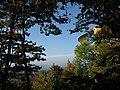 Herbststimmung 2008 im Siebengebirge, Blick auf Post-Tower - panoramio.jpg