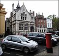 Hereford ... former post office with HR4 42. - Flickr - BazzaDaRambler.jpg