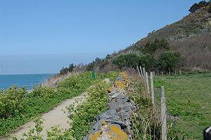 Western Coast Footpath, Herm Island