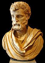 Portrait d Hérode Atticus, vers 161. Musée du Louvre, Ma 1164. Ce portrait a été découvert dans la villa d Hérode Atticus, à Probalinthos dans la région d Athènes (Grèce).