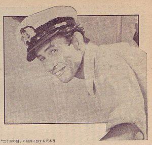 Hideyo Amamoto - Amamoto in 1954