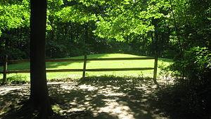 Highbanks Metropolitan Park Mounds I and II - The southern mound