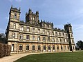 Highclere Castle on a sunny April day.jpg