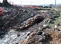 Highfield Lime Kiln, North Ayrshire - small storage shed ruins.jpg