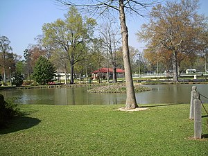 Highland Park (Meridian, Mississippi) - Lagoon in Highland Park