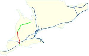 Ontario Highway 4 - Image: Highway 4