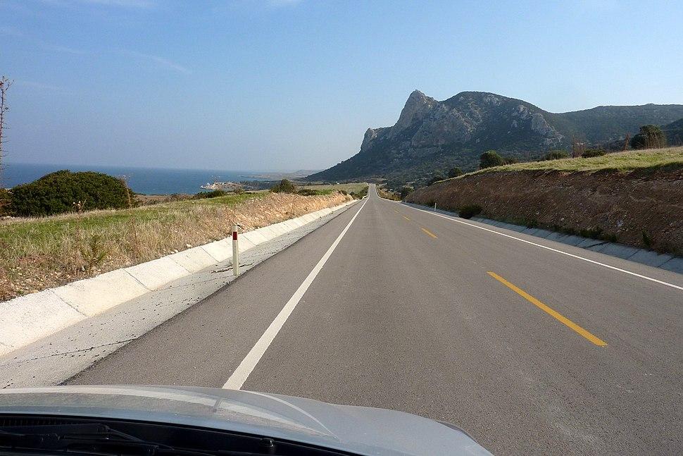 Highway in Karpaz